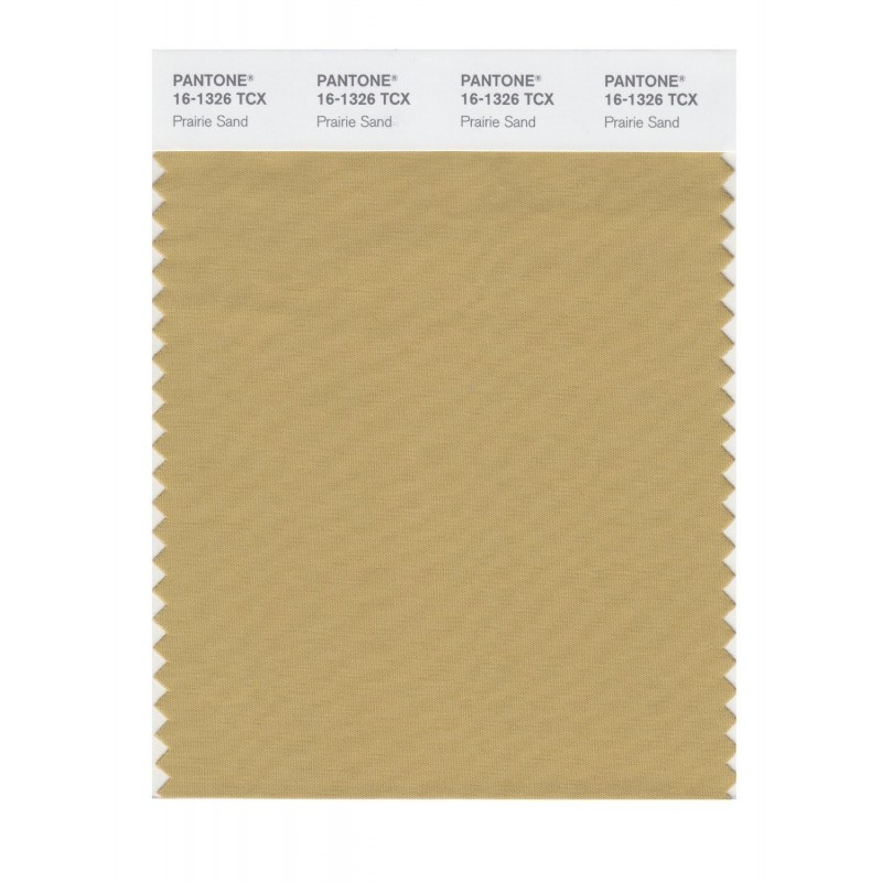Pantone 16-1326 TCX Swatch Card Prarie Sand