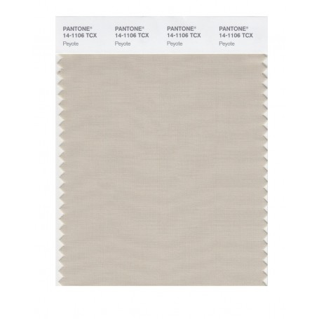 Pantone 14-1051 TCX Swatch Card Warm Apricot