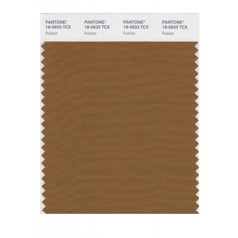 Pantone 18-0933 TCX Swatch Card Rubber