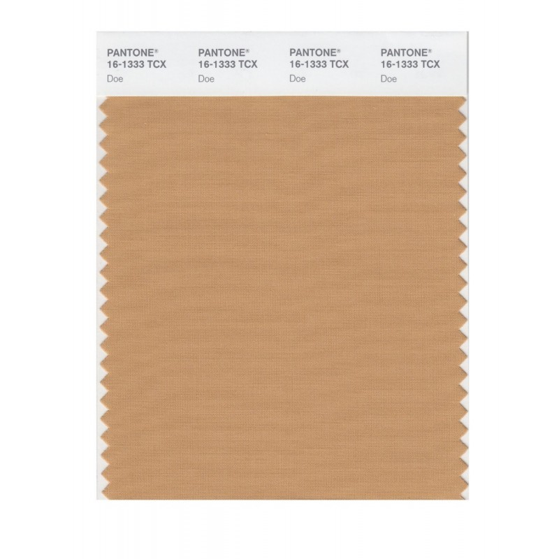 Pantone 16-1333 TCX Swatch Card Doe Buy in india