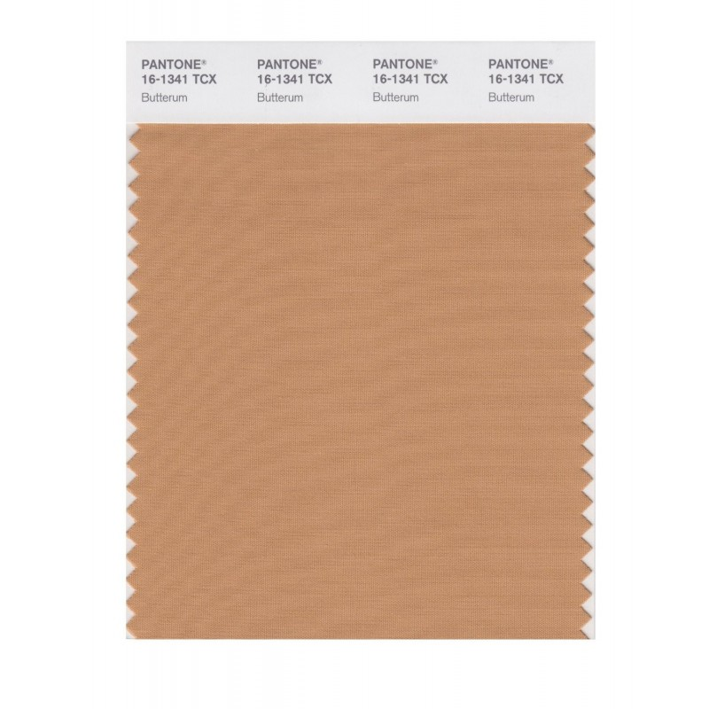Pantone 16-1341 TCX Swatch Card Butterum