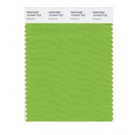 Pantone 15-0343 TCX Swatch Card Greenery