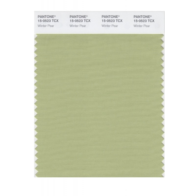 Pantone 15-0523 TCX Swatch Card Winter Pear