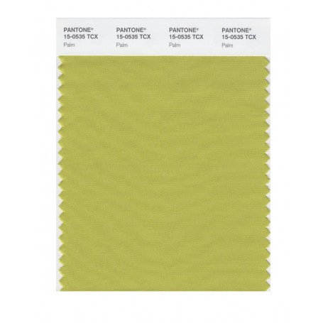 Pantone 15-0535 TCX Swatch Card Palm