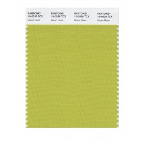Pantone 15-0538 TCX Swatch Card Green Oasis