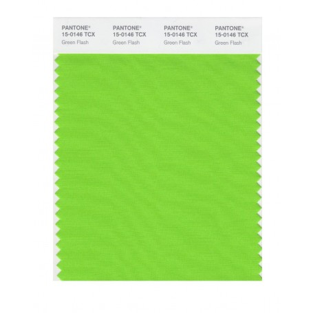 Pantone 15-0146 TCX Swatch Card Green Flash