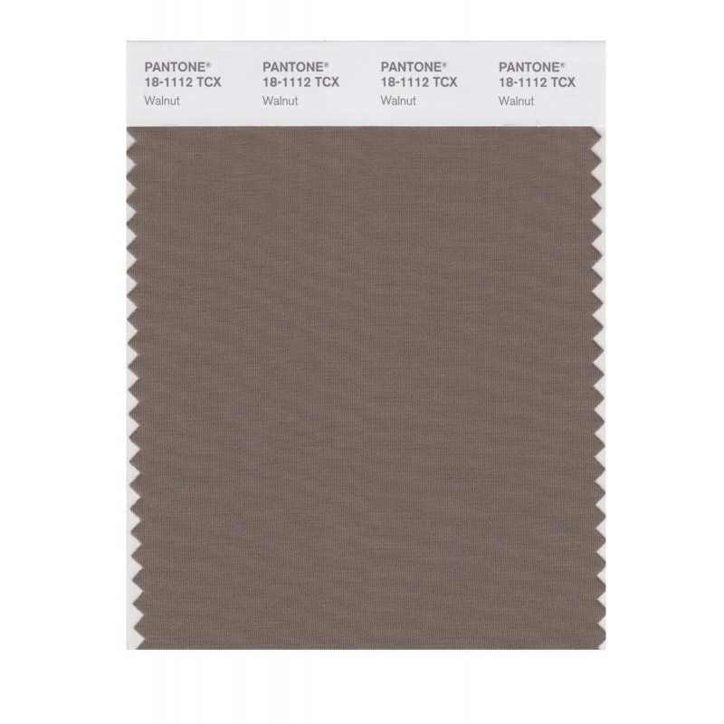 Pantone 18-1112 TCX Swatch Card Walnut