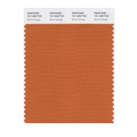 Pantone 16-1448 TCX Swatch Card Burnt Orange