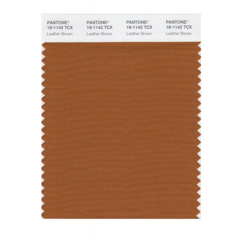 Pantone 18-1140 TCX Swatch Card Mocha Bisque