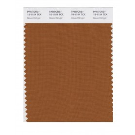 Pantone 18-1154 TCX Swatch Card Glazed Ginger