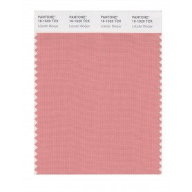 Pantone 16-1520 TCX Swatch Card Lobster Bisque