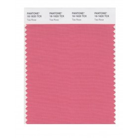 Pantone 16-1620 TCX Swatch Card Tea Rose