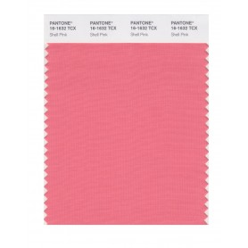 Pantone 16-1632 TCX Swatch Card Shell Pink