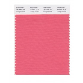 Pantone 16-1641 TCX Swatch Card Georgia Peach