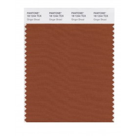 Pantone 18-1244 TCX Swatch Card Ginger Bread
