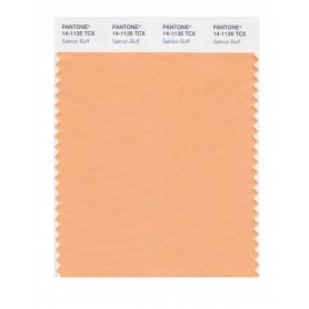 Pantone 14-1135 TCX Swatch Card Salmon Buff