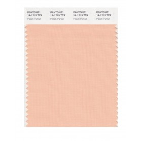 Pantone 14-1219 TCX Swatch Card Peach Parfait