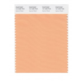 Pantone 14-1230 TCX Swatch Card Apricot Wash