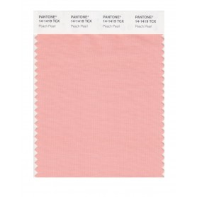 Pantone 14-1419 TCX Swatch Card Peach Pearl