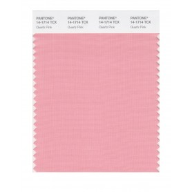 Pantone 14-1714 TCX Swatch Card Quartz Pink