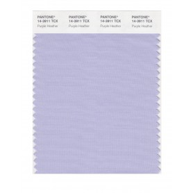 Pantone 14-3911 TCX Swatch Card Purple Heather