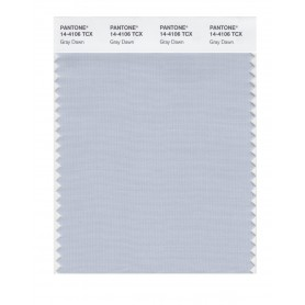 Pantone 14-4106 TCX Swatch Card Gray Dawn