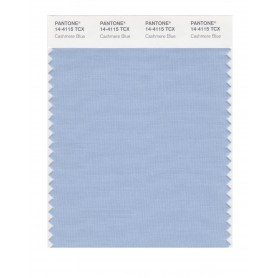 Pantone 14-4115 TCX Swatch Card Cashmere Blue