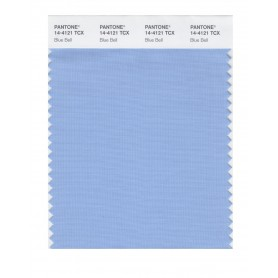 Pantone 14-4121 TCX Swatch Card Blue Bell