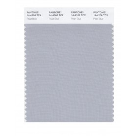 Pantone 14-4206 TCX Swatch Card Pearl Blue