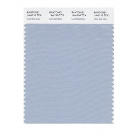 Pantone 14-4210 TCX Swatch Card Celestial Blue
