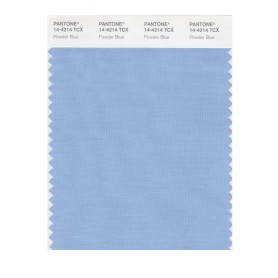 Pantone 14-4214 TCX Swatch Card Powder Blue