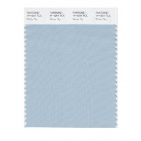 Pantone 14-4307 TCX Swatch Card Winter Sky