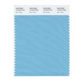Pantone 14-4310 TCX Swatch Card Blue Topaz