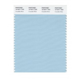 Pantone 14-4311 TCX Swatch Card Corydalis Blue