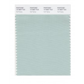 Pantone 14-4807 TCX Swatch Card Surf Spray