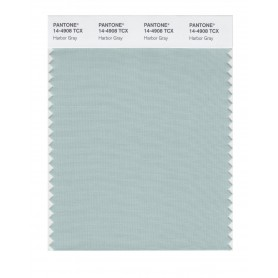 Pantone 14-4908 TCX Swatch Card Harbor Gray