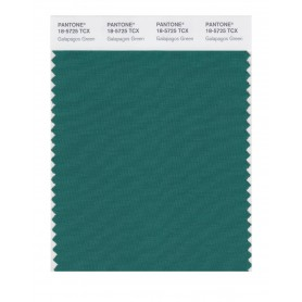 Pantone 18-5725 TCX Swatch Card Galapagos Green