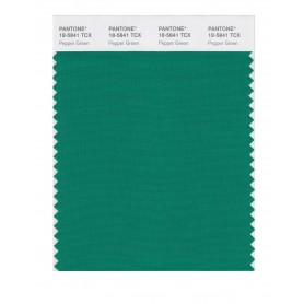 Pantone 18-5841 TCX Swatch Card Pepper Green