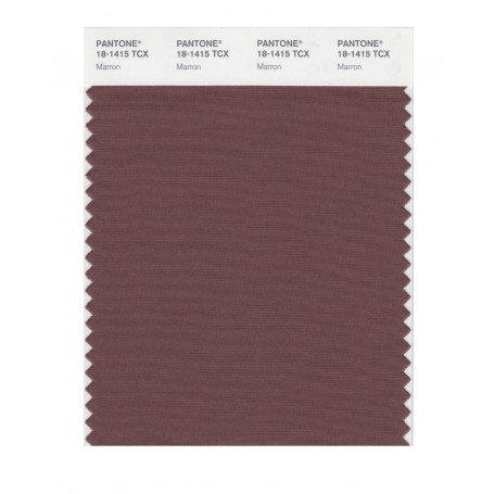 Pantone 18-1415 TCX Swatch Card Marron