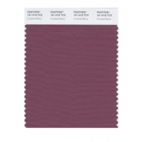 Pantone 18-1418 TCX Swatch Card Crushed Berry