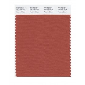 Pantone 18-1451 TCX Swatch Card Autumn Glaze