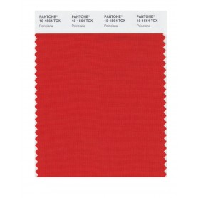 Pantone 18-1564 TCX Swatch Card Poinciana