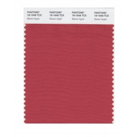 Pantone 18-1648 TCX Swatch Card Baked Apple