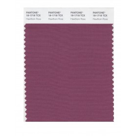Pantone 18-1718 TCX Swatch Card Hawthorn Rose