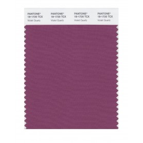 Pantone 18-1720 TCX Swatch Card Violet Quartz
