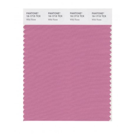 Pantone 16-1715 TCX Swatch Card Wild Rose