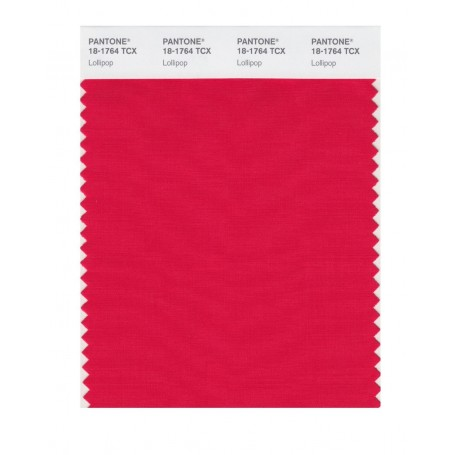 Pantone 18-1764 TCX Swatch Card Lollipop
