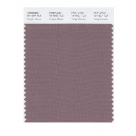Pantone 18-1807 TCX Swatch Card Twilight Mauve