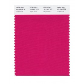 Pantone 18-1945 TCX Swatch Card Bright Rose