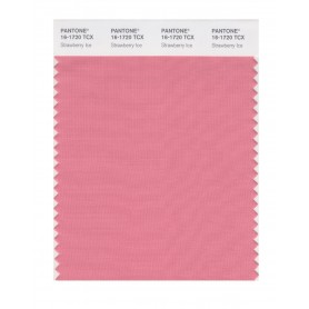 Pantone 16-1720 TCX Swatch Card Strawberry Ice